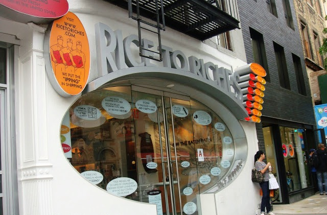 Rice to Riches en NoLita