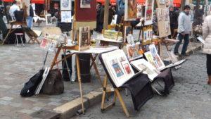 Lee más sobre el artículo Encanto invernal de la Place du Tertre
