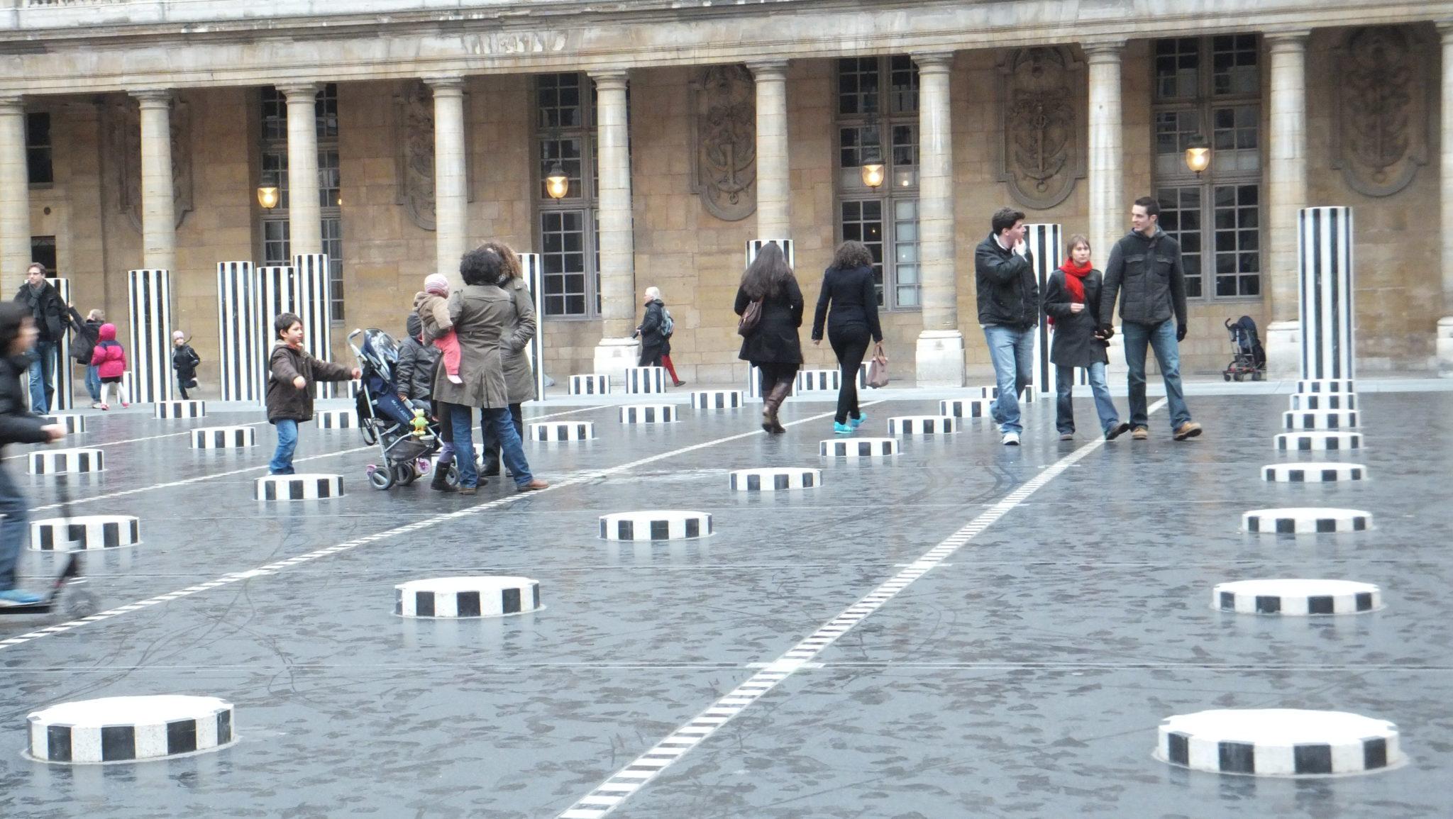 Las columnas de Buren en París