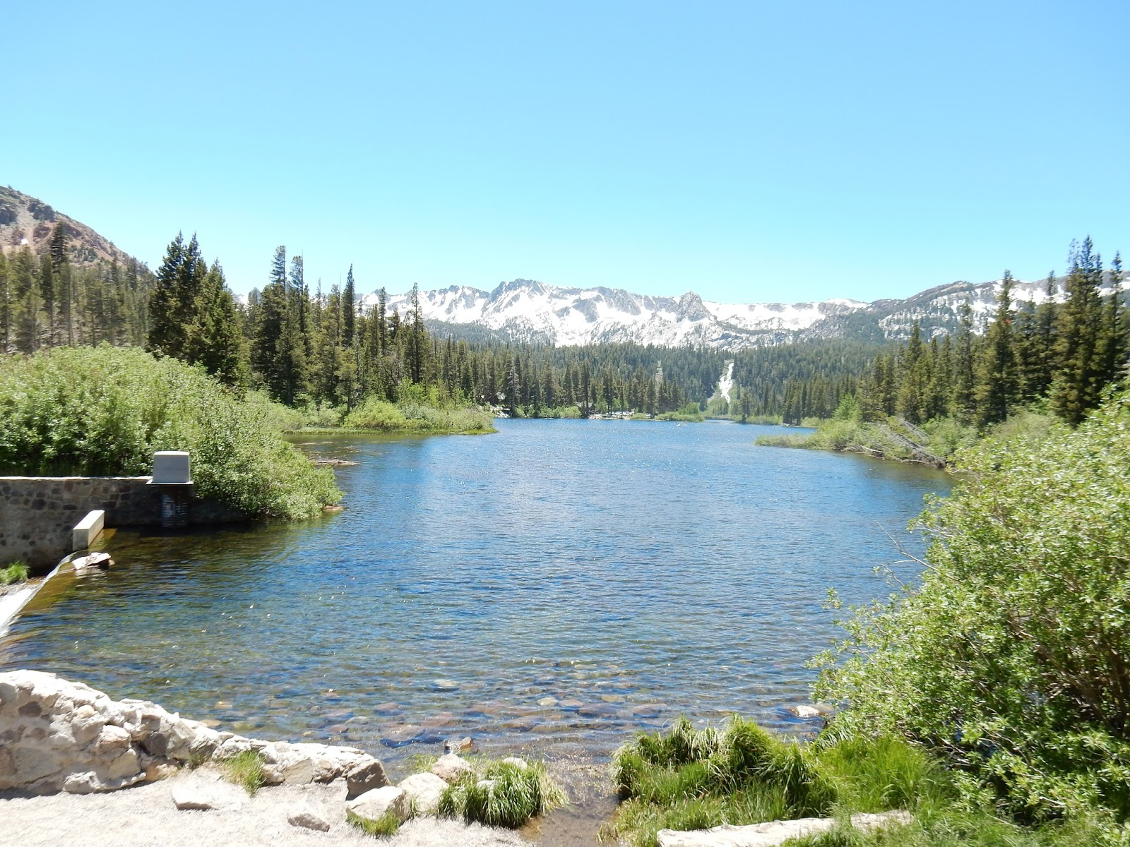 El encanto de Mammoth Lakes en California