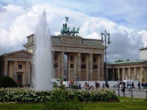 Paseo bajo los tilos en Berlín