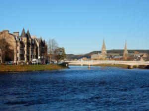 Inverness, la lejana capital de las Highlands