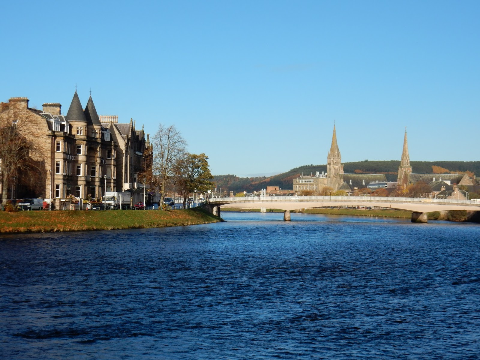 Inverness, la lejana capital de las Highlands