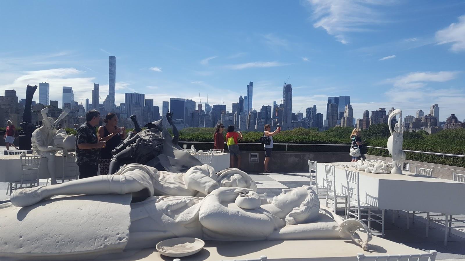Un rosarino revolucionó la terraza del MET