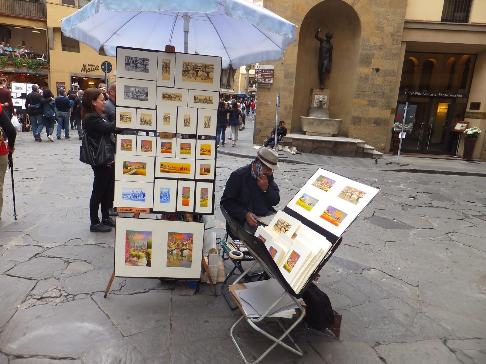 Cuando una mariposa sobrevuela Florencia
