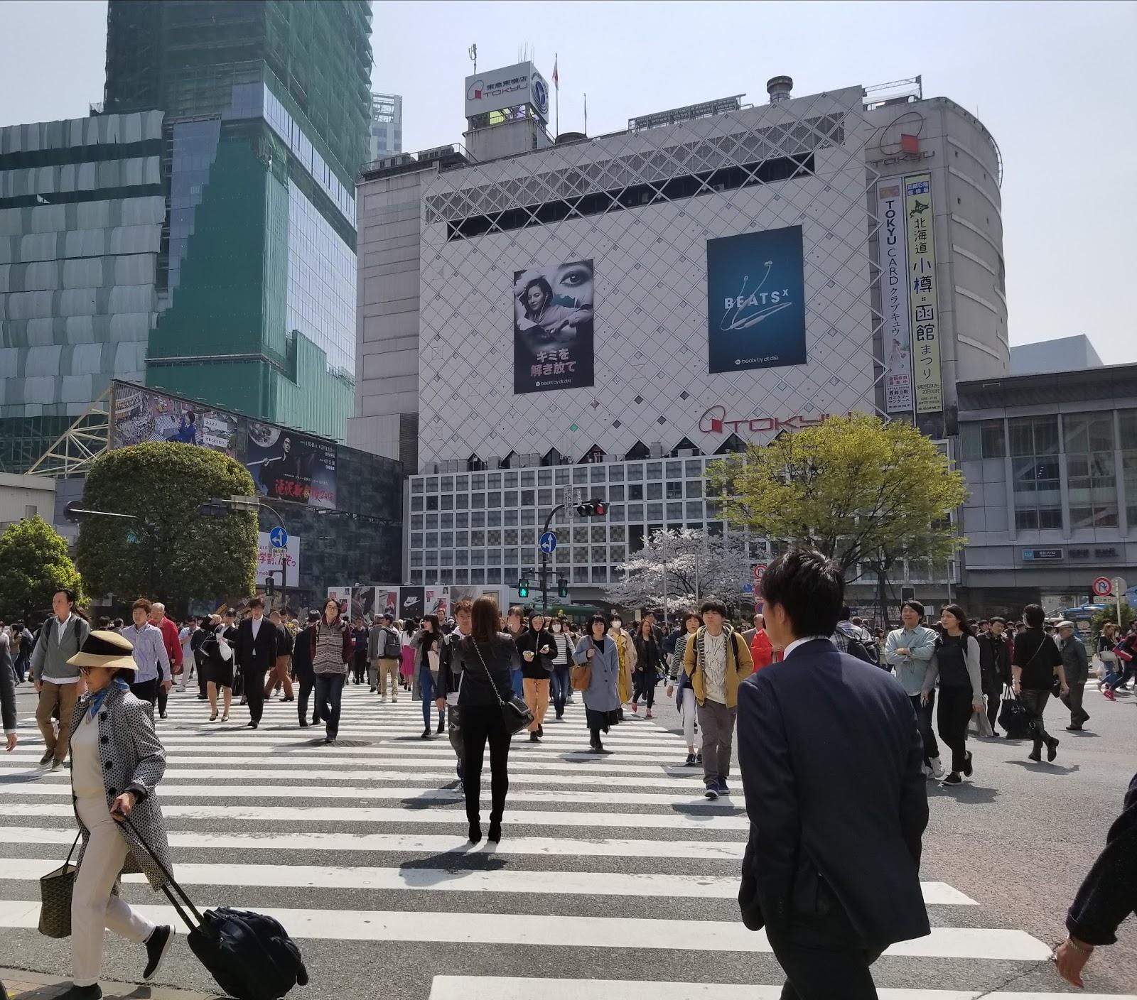 Lee más sobre el artículo Cruce de Shibuya, la intersección más famosa del mundo