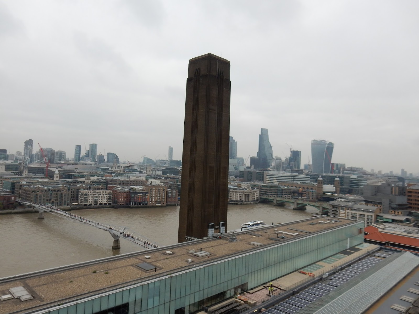 Londres desde la Switch House del Tate Modern