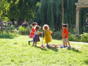 Parque Monceau, entre los jardines más hermosos de París