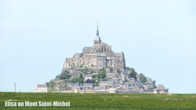 Un día llegué al Mont Saint-Michel