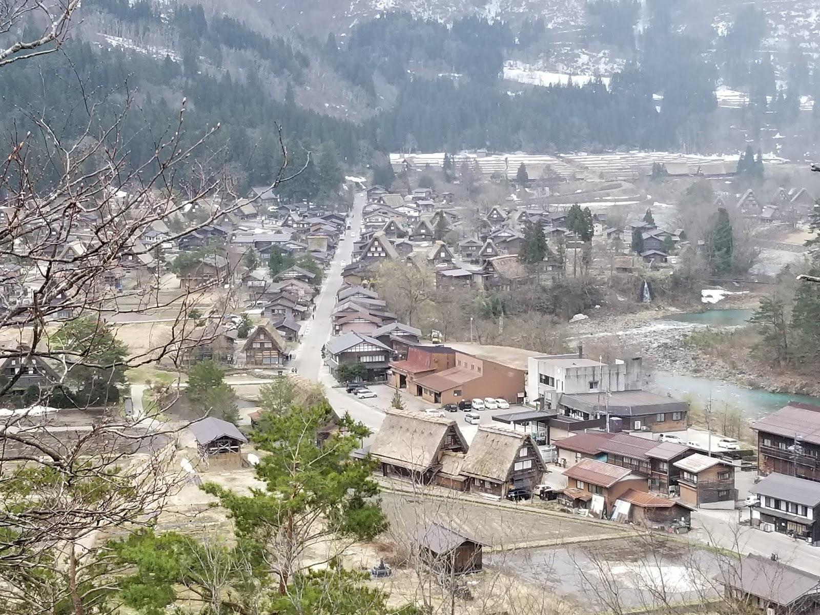 Aldea de Shirakawa-go, encantadora