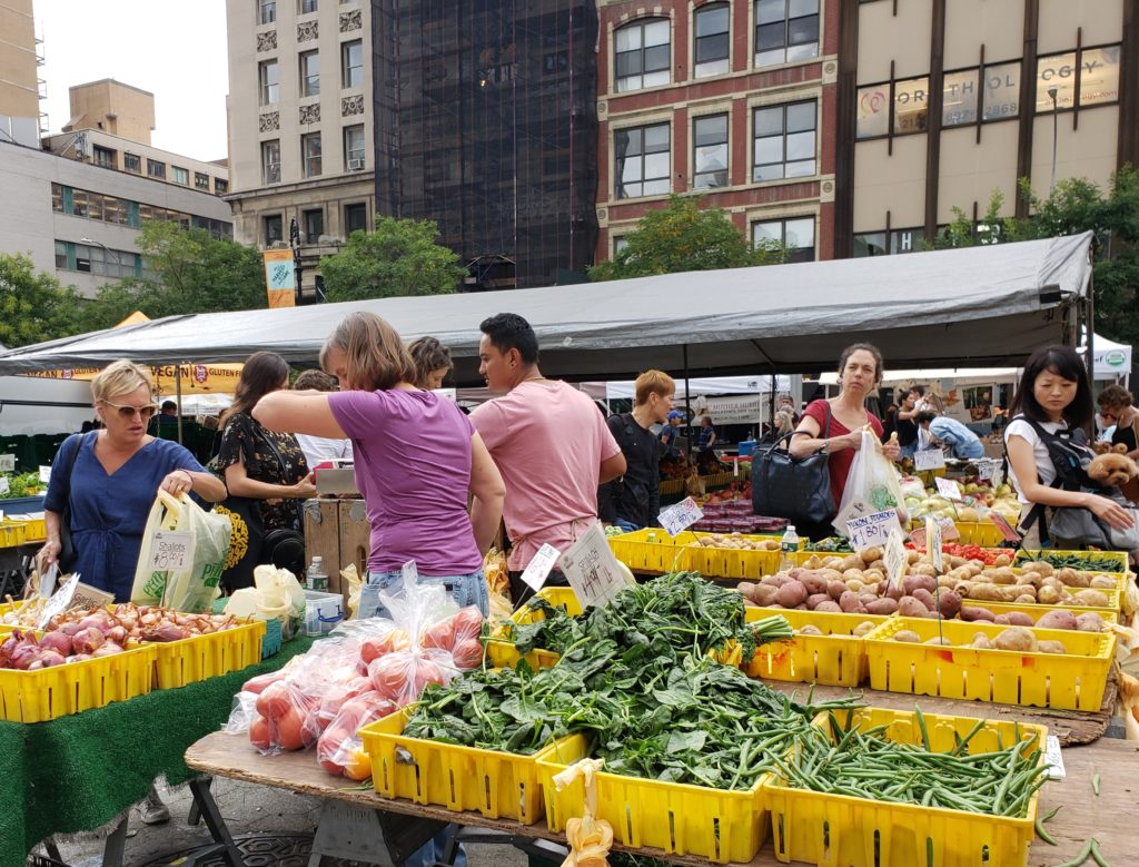 Union Square Greenmarket, Manhattan