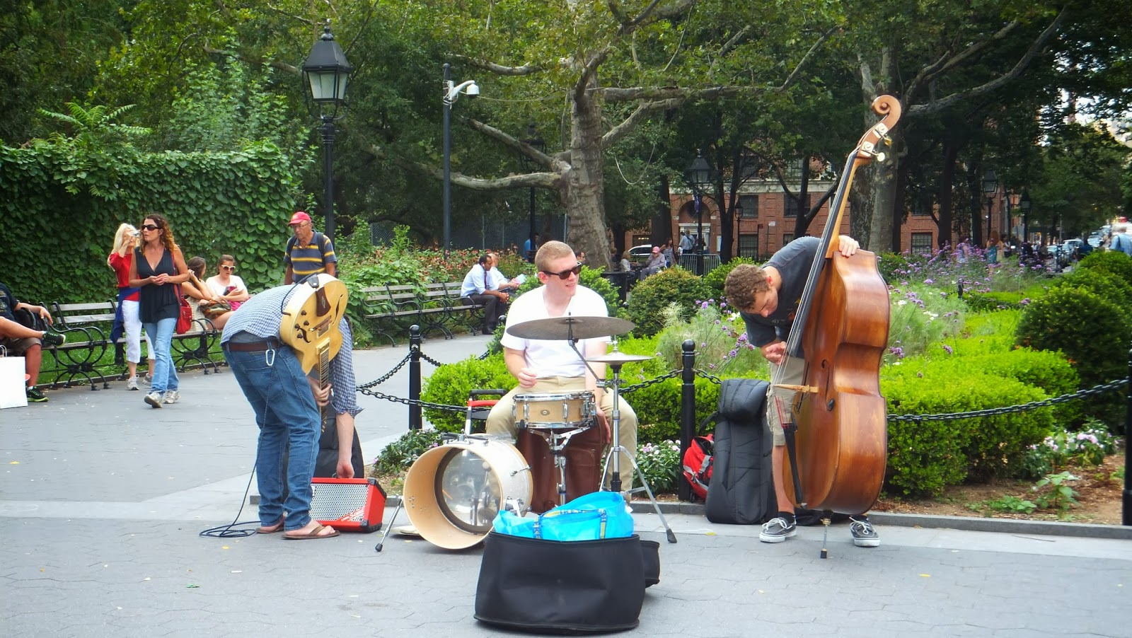 Washington Square Park, super agradable