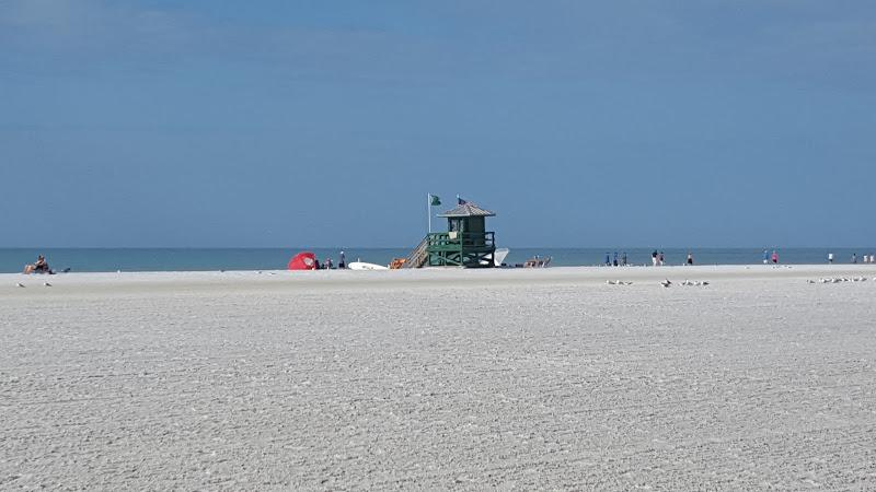 Lido Beach, bajo el sol de Sarasota