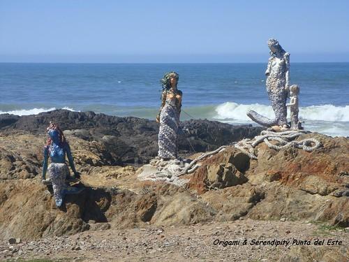 Canción de sirenas a orillas del mar