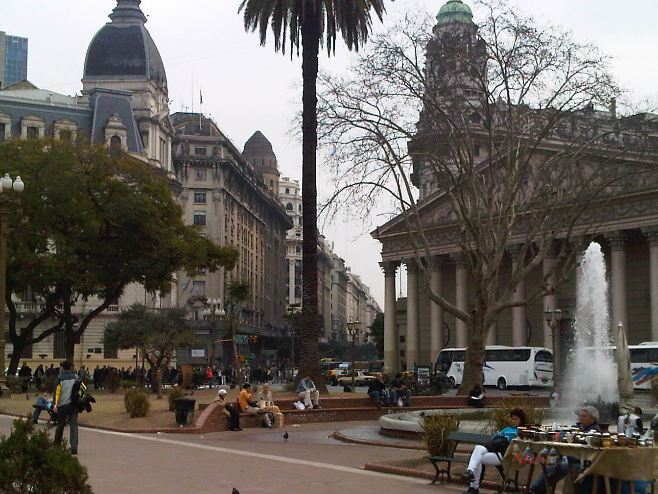 Recorriendo el casco histórico de Buenos Aires