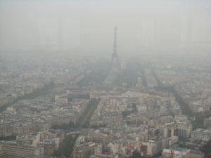 Panorama desde el «Ciel de París» y la Tour de Montparnasse