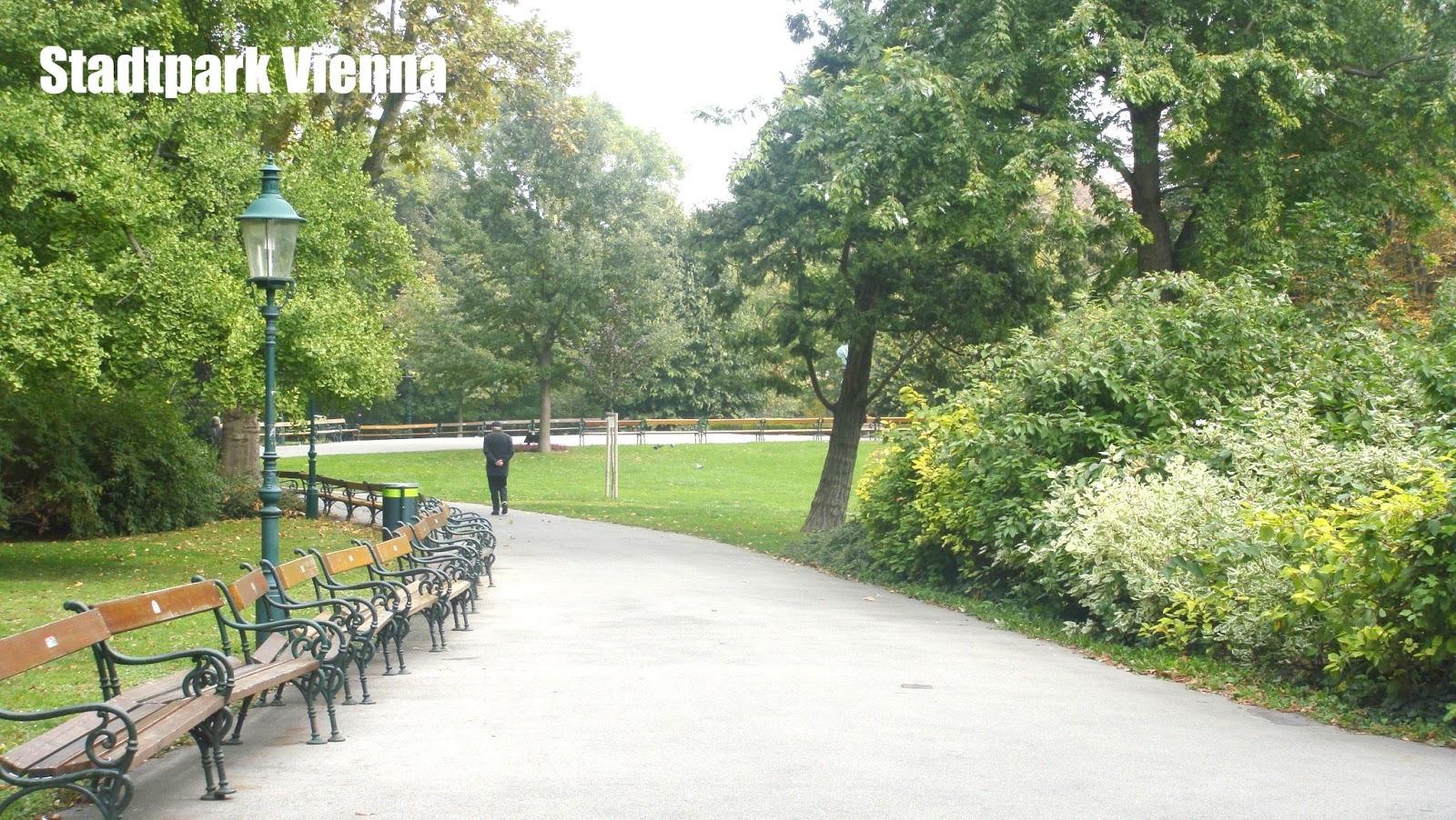 Caminata en el Stadtpark Viena