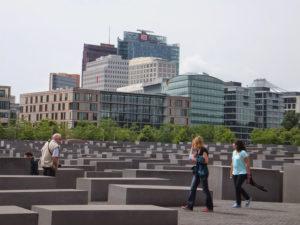 Memorial del Holocausto en el corazón de Berlín