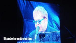 Elton John en Estadio de Velez Sarsfield