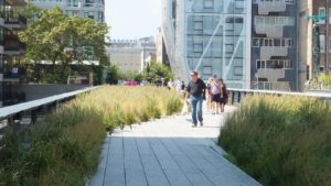 The High Line en Manhattan, paseo elevado