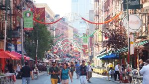 Postales de Little Italy y ChinaTown, en Manhattan