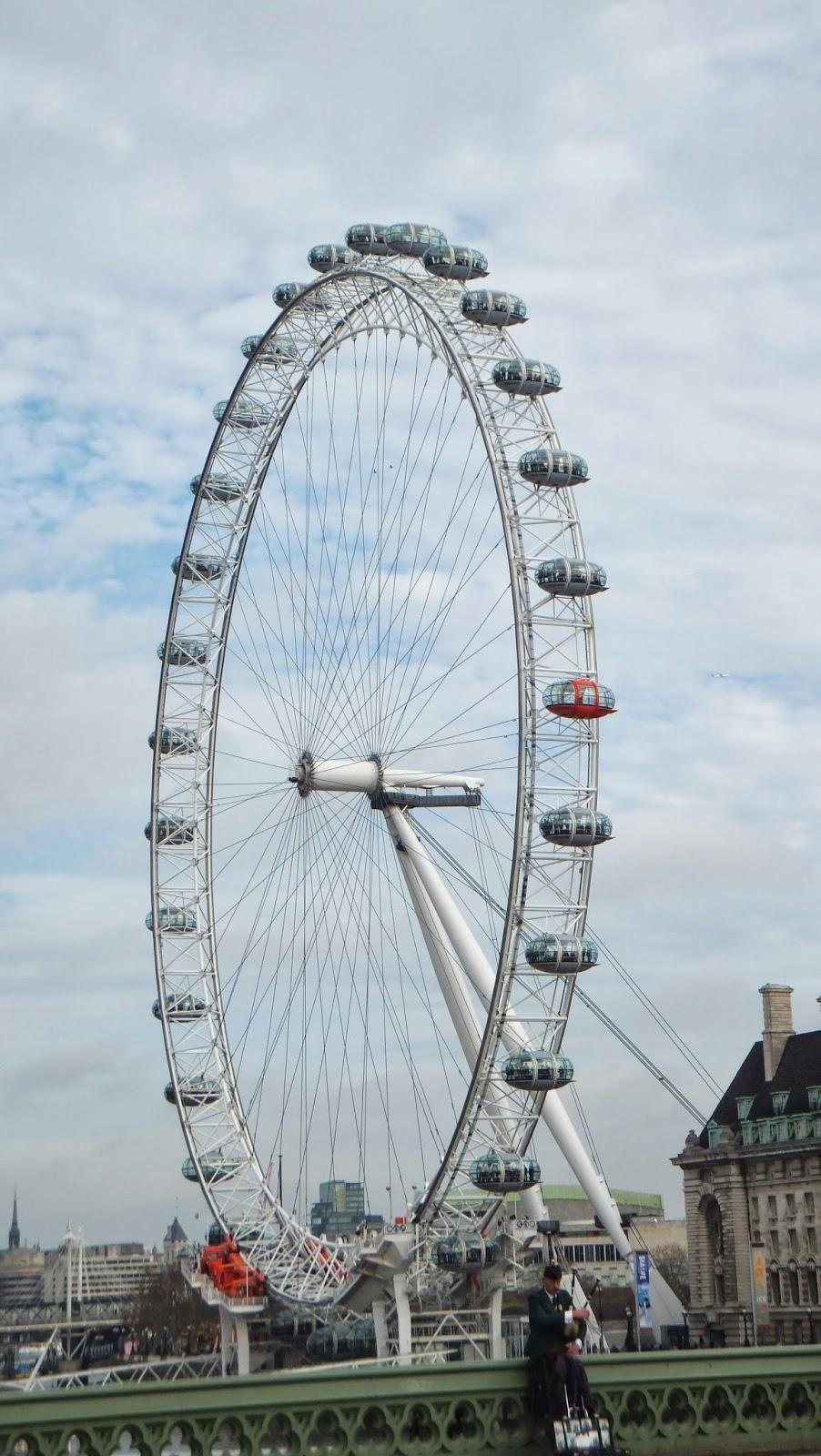 London Eye, entre las mejores atracciones de Londres