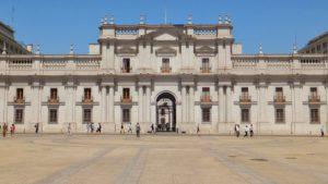 Plaza de Armas y La Moneda, Santiago.
