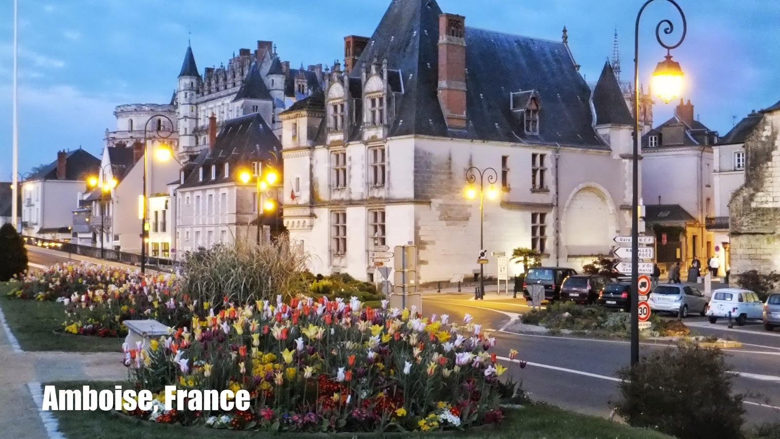Sortilegio de un recorrido al atardecer en Amboise