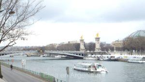 Puente Alexandre III, el más bonito de París