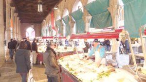 Pescheria del Mercato di Rialto, antiguo mercado de pescadores de Venecia