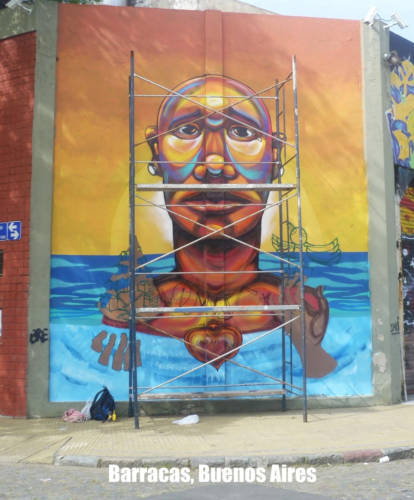 Lee más sobre el artículo Meeting of Styles, street art en Barracas