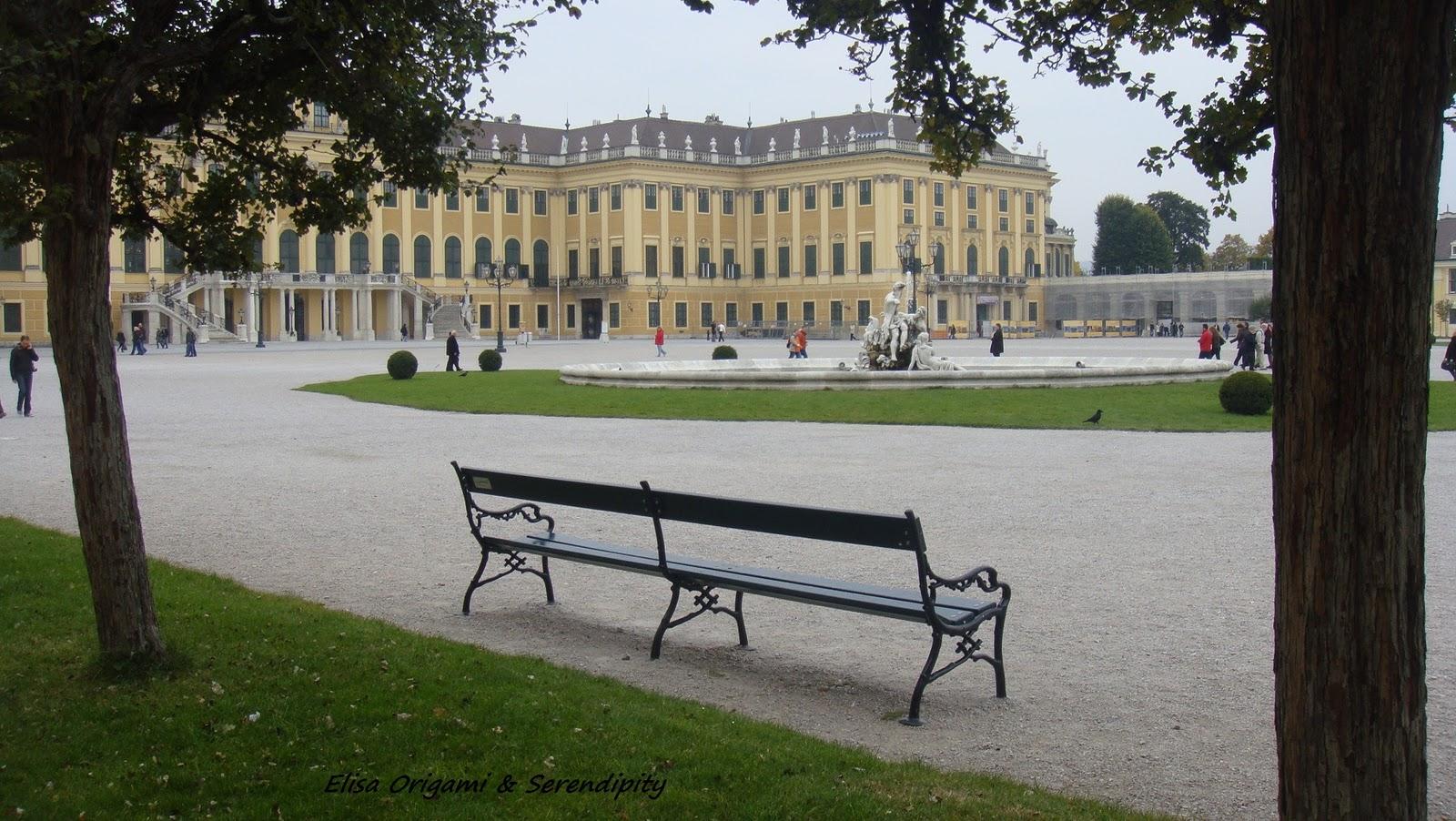 Estuve en los jardines de Schönbrunn en Viena