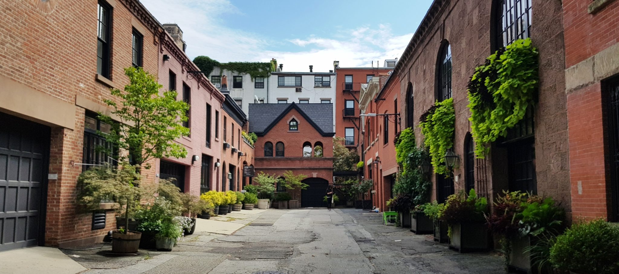 Grace Court Alley, calle oculta en Brooklyn Heights