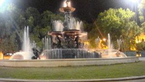 Fuente de los Continentes, Parque San Martín de Mendoza