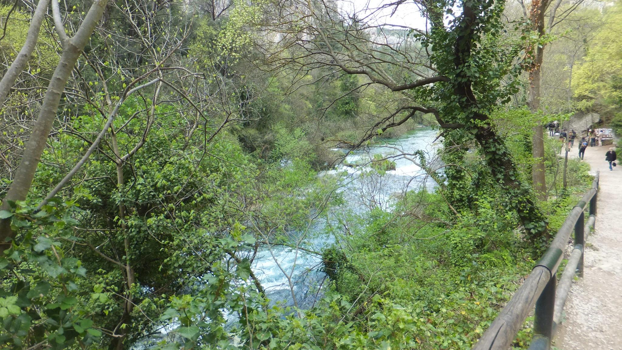 Fontaine de Vaucluse en la Provence