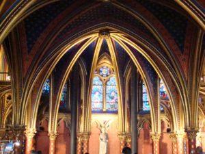 Sainte Chapelle, la Santa Capilla de París