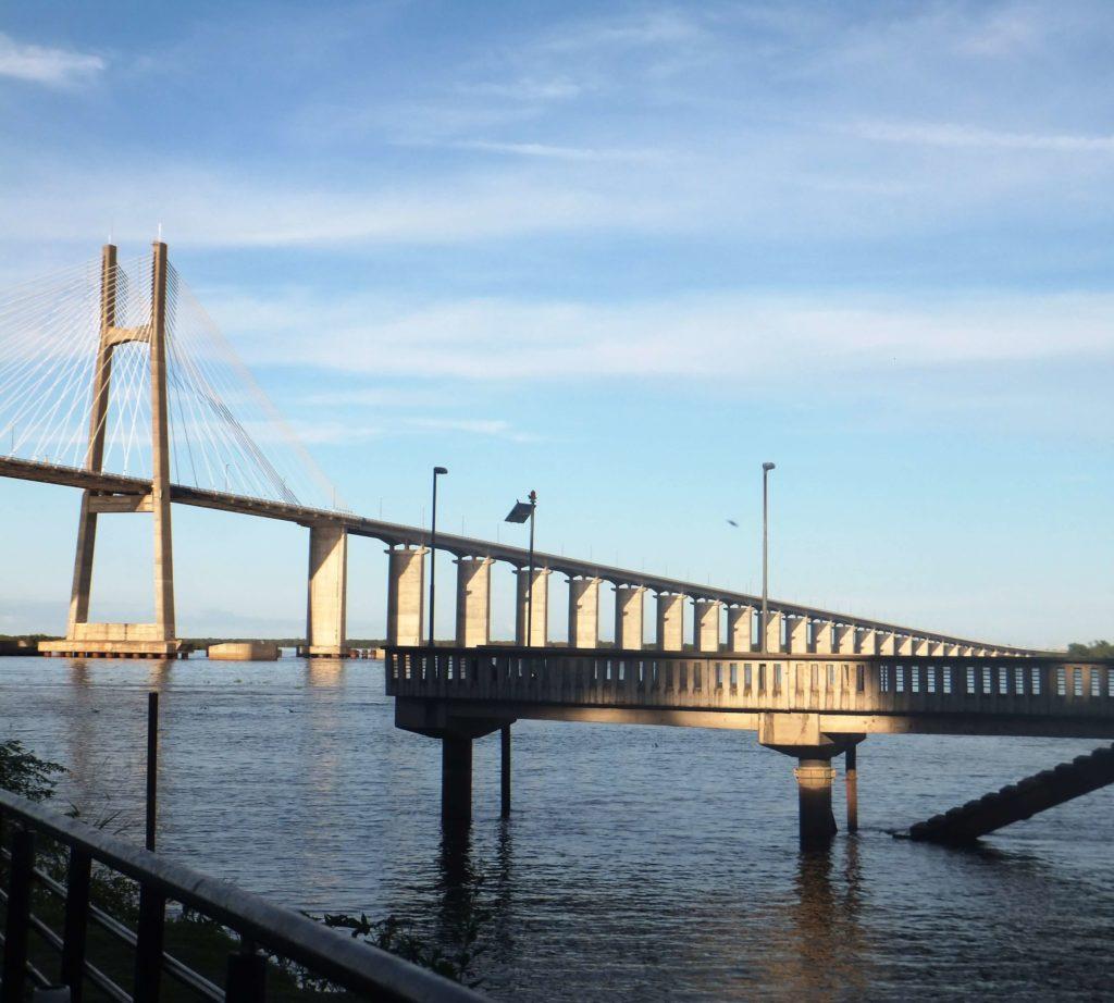 Puente Rosario Victoria, Costa Alta del Río Paraná