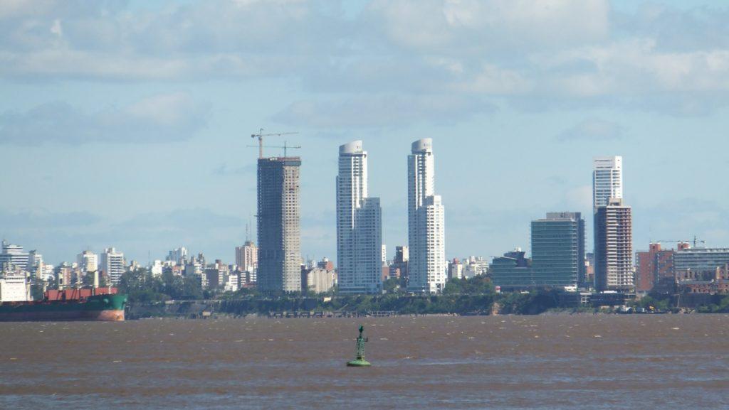 Río Paraná, en Rosario