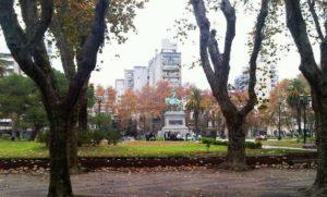 Plaza San Martín y Museo de la Memoria