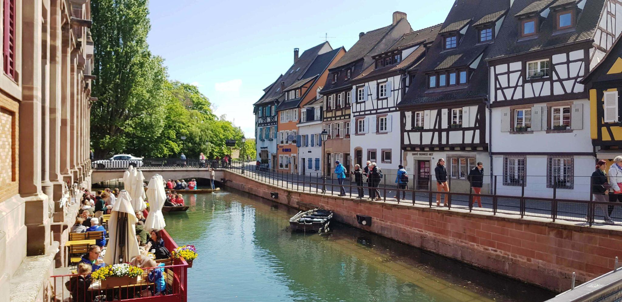 Colmar, en el corazón de la Alsacia