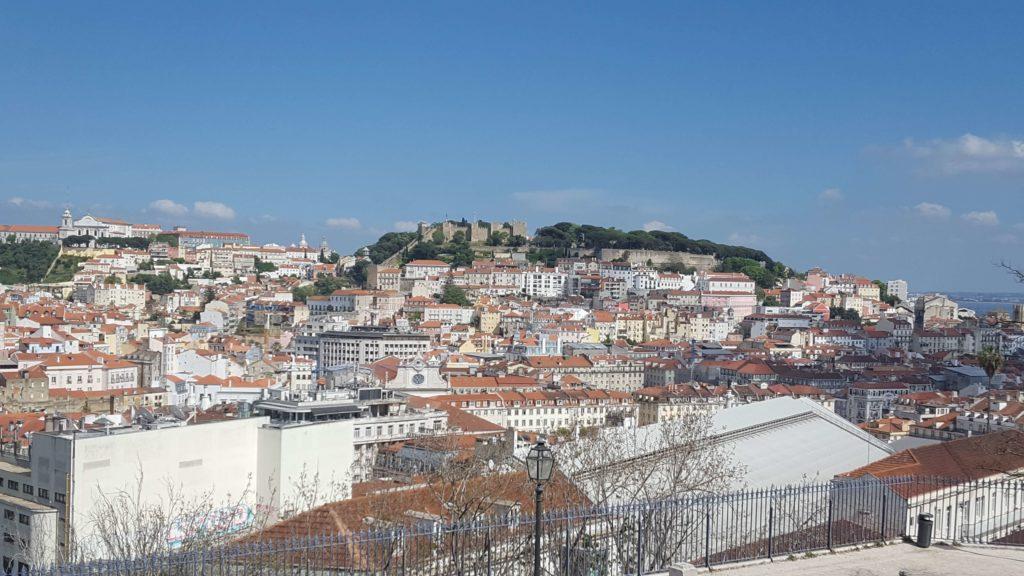 Panorama del Castillo desde el mirador de San Pedro de Alcántara