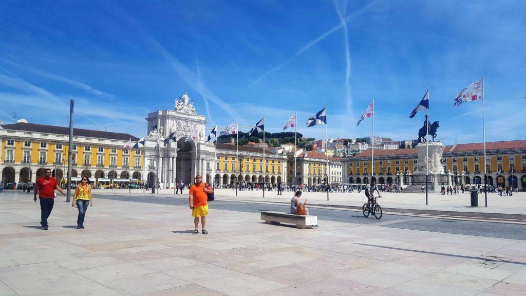Plaza del Comercio o Terreiro do Paço, Lisboa