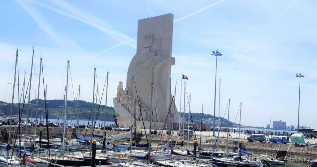 Monumento de los Descubrimientos, Barrio de Belem, Lisboa, Portugal