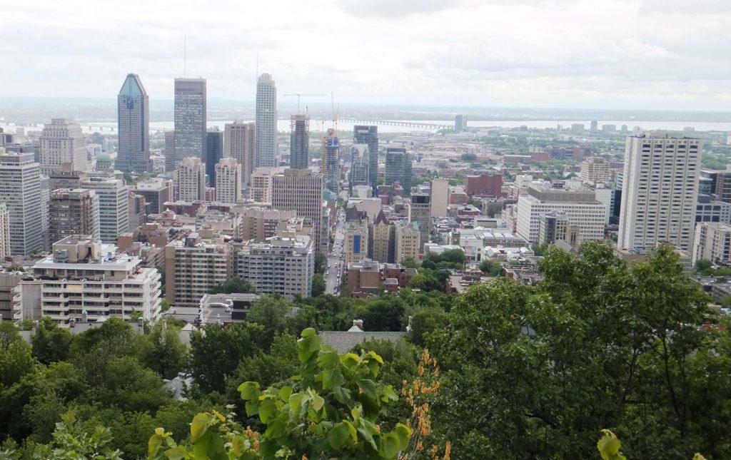 Panorámica de Montréal, Parque del Mont Royal