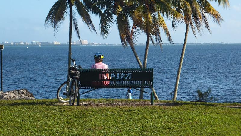 Alice Wainwright Park, terraza sobre Miami Beach