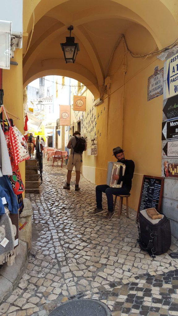 Calles de Sintra, Portugal