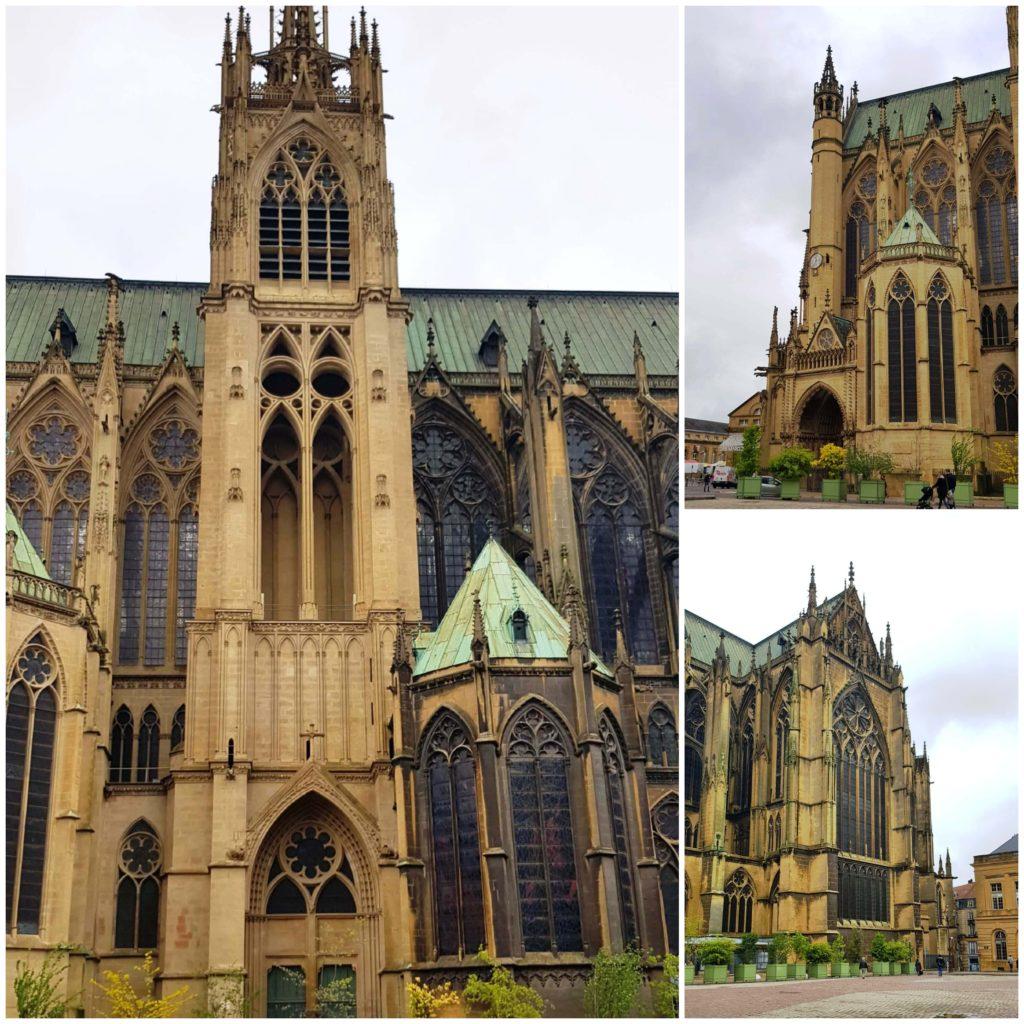 Vista exterior de la Catedral de Metz