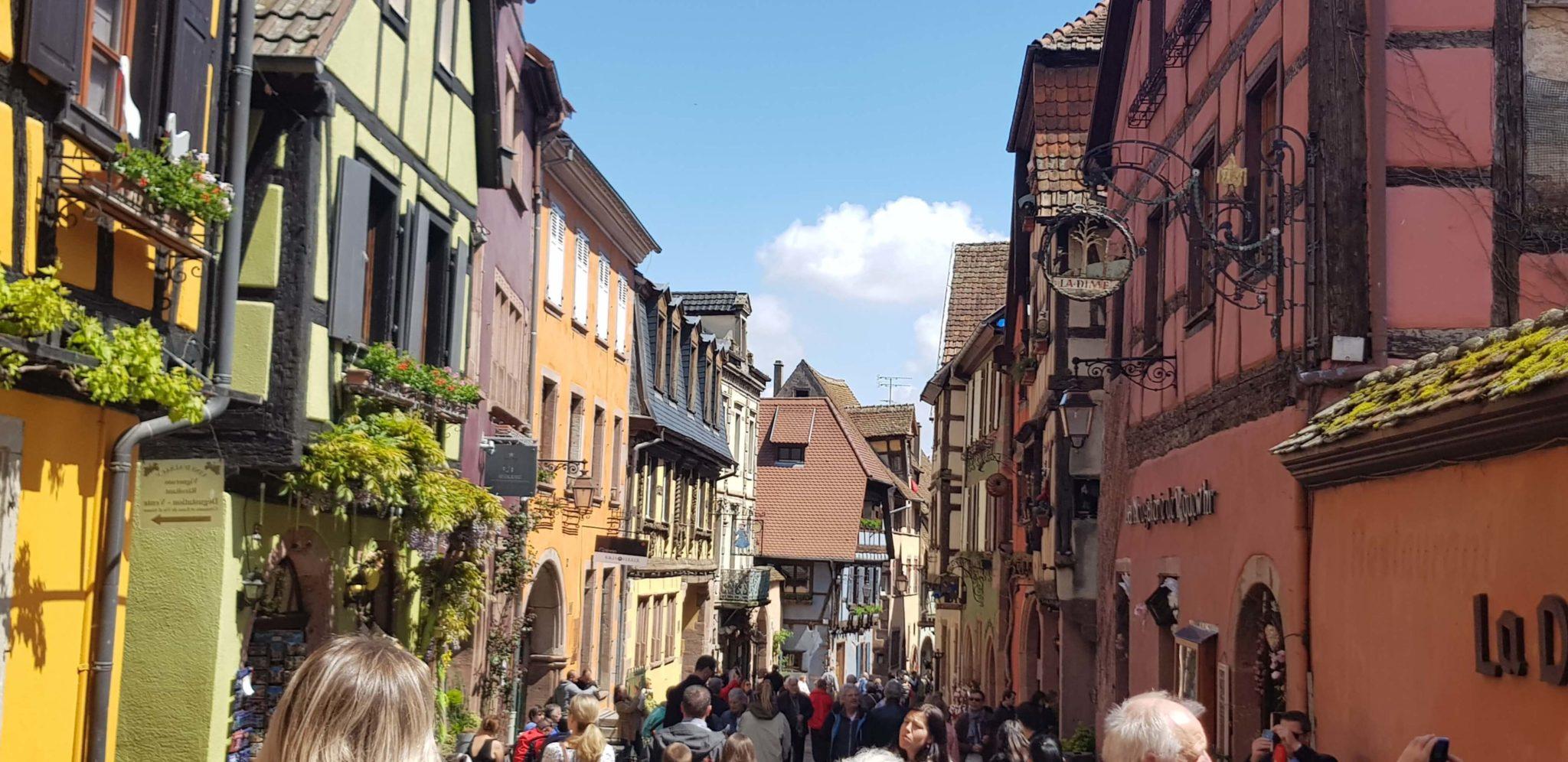 Riquewihr, perla de los viñedos de la Alsacia