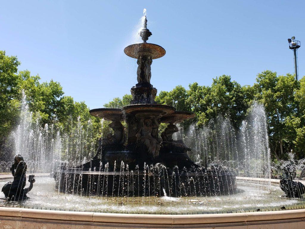 Fuente de los Continentes, Parque San Martín, Ciudad de Mendoza