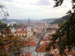 Lee más sobre el artículo Praga desde el parque de la Colina de Petřín